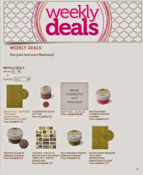 Weekly Deals 7-5-14